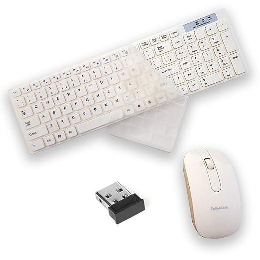 4 opinioni per ULTRICS® Tastiera Mouse Wireless, 2.4 GHz Bluetooth Tastiera Mouse Ottico Senza