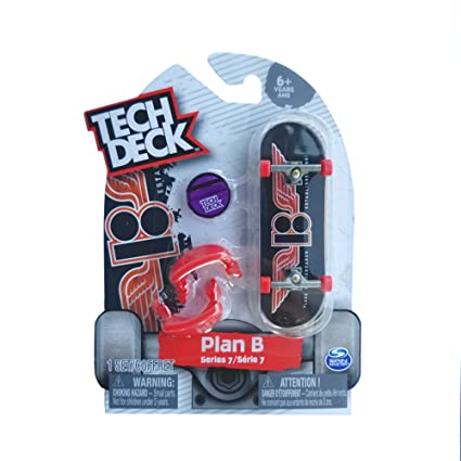 Amazon com: Tech Deck Series 7 Complete Fingerboard W/ 32mm