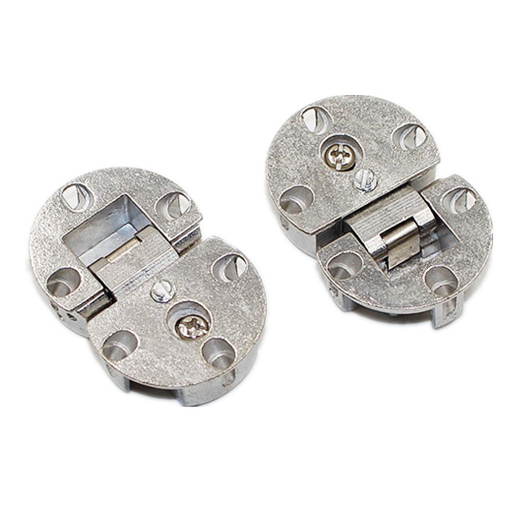 HOOTMALL 2pcs 90 Degrees Fully Adjustable Concealed Fall Flap Hinges