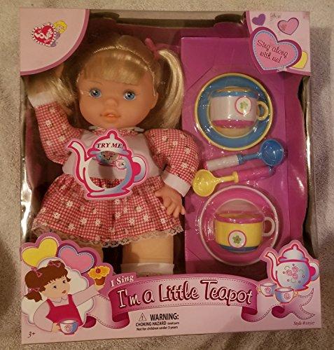 Tea Pot Tots ** Herb L. Tea ** Rare 1987 ** Irwin #46000 ** with Poster + TEA CUP & Saucer ()