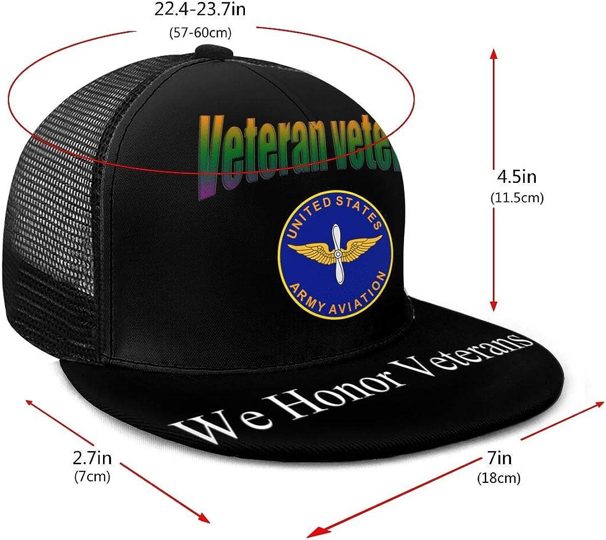 United States Army Aviation Branch Classic Grid Hop Flat Along Baseball Hat Snapback Unisex Hats Adjustable