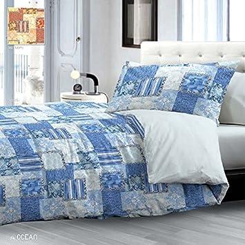 Leichte Bettdecke Bettlaken Doppelbett Atlantik Blau Amazon