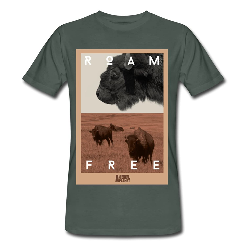 Bison Animal Planet Men's Organic T-shirt by Spreadshirt??