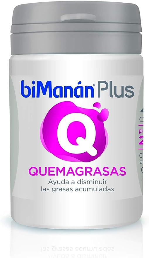 BIMANAN - Complementos - Quemagrasas - Plus Q - 40 cápsulas 16 gr (199838)