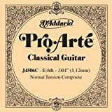 D\'Addario J4506C Pro-Arte Composite Classical Guitar Single String, Normal Tension, Sixth String