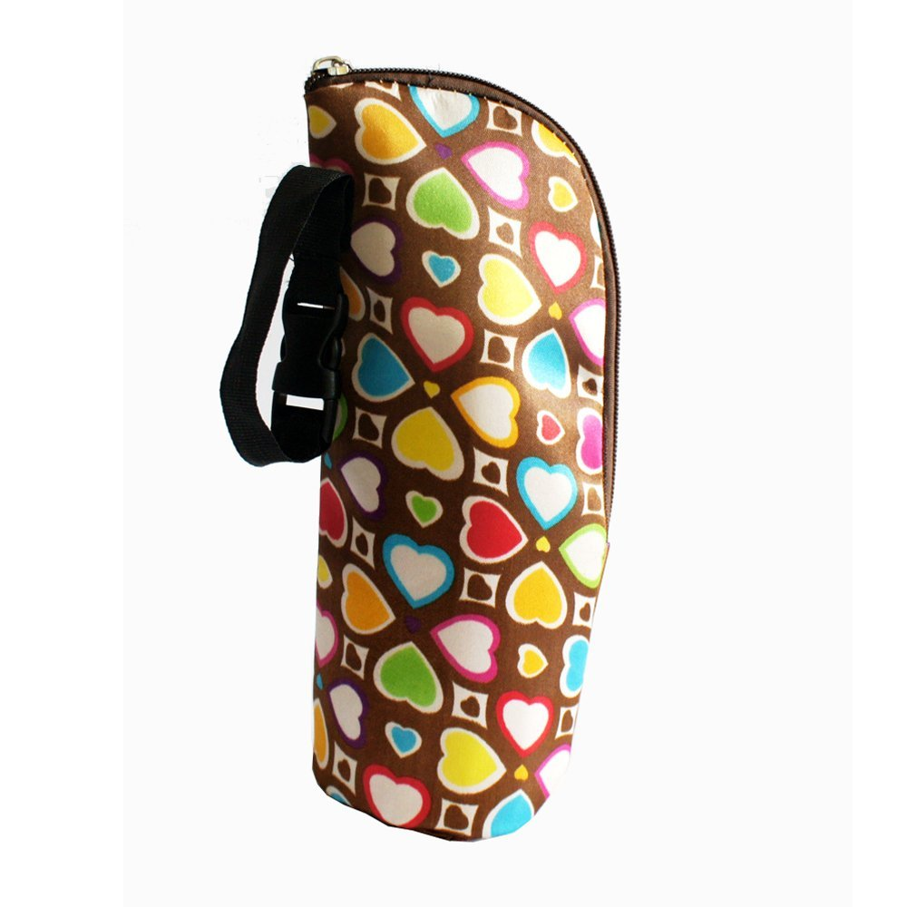 A Kasstino Baby Thermal Feeding Bottle Warmers Bag Mummy Insulation Tote Bag Hang Stroller