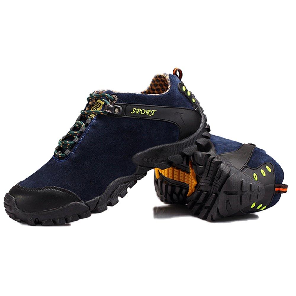 Zapatillas De Deporte para Hombre Transpirables Otoño Zapatillas De Deporte De Cuero Transpirables Hombre Al Aire Libre Luz De Cintura Baja Impermeables Senderismo Zapatos para Caminar b773ff