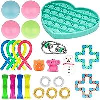 LICHENGTAI 24 stuks fidget-speelgoedset, stressvermindering, speelgoed, decompressie, sensory speelgoedset, autisme…
