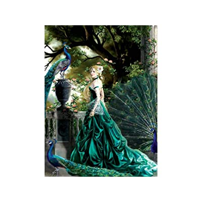 Emerald Hawthorne 1000 Piece Jigsaw Puzzle by SunsOut: Toys & Games