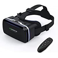 VR Headset Virtual Reality Headset - Compatible for iph X/7/6s/6splus/6/5,Galaxy, Huawei,Google, Moto and Android All…