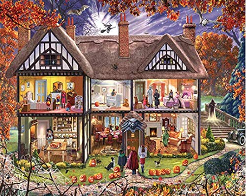 Halloween House Jigsaw Puzzle 1000 Piece by White Mountain