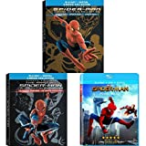 Spider-Man (2002) / Spider-Man 2 (2004) / Spider-Man 3 (2007) (4 Discs) Limited Edition Giftset + Amazing Spider-Man / The Amazing Spider-Man 2 + Spider-Man: Homecoming