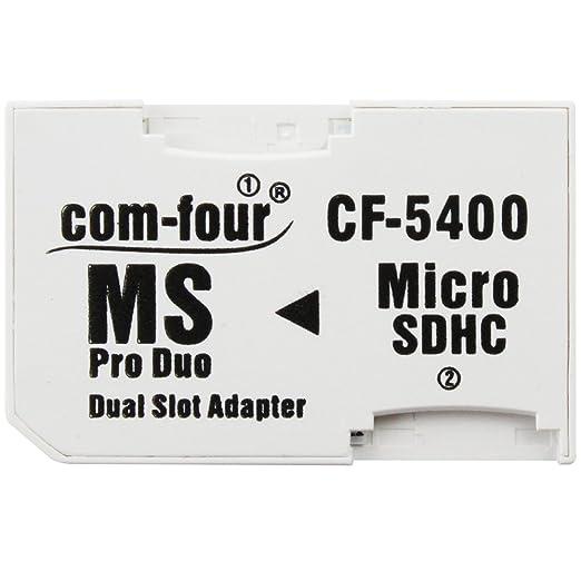14 opinioni per Doppio Micro SD a MS PRO DUO Adattatore di Scheda Memoria Microsd a Memory Stick