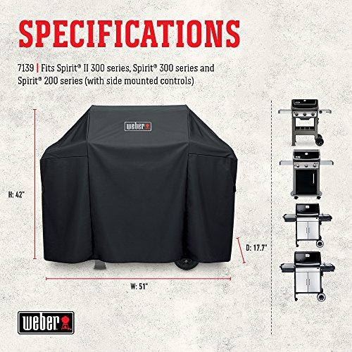 Weber 7139 Premium Cover Spiritii 300 Grill Accessory