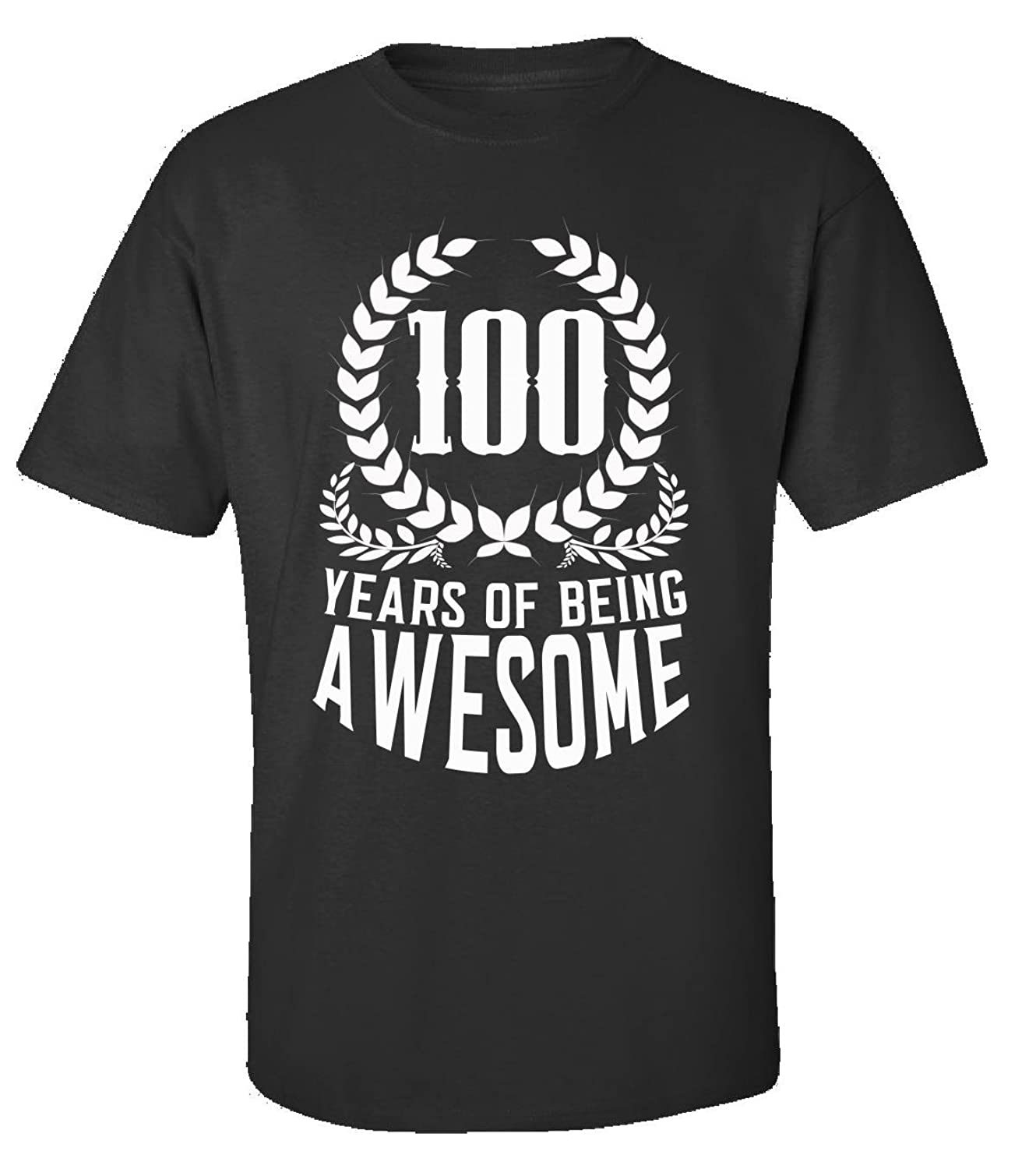 100th Birthday Gift For Men Woman 100 Years Of Being Awesome - Adult Shirt