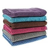 """White Dove Classic Value Bath Towel Set - 6 PCS - 25"""" x"""