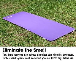 PURPLE NPR Yoga Mat 72x24x1/2\