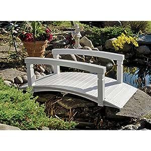 Diseño Toscano Jensen arco de madera jardín puente