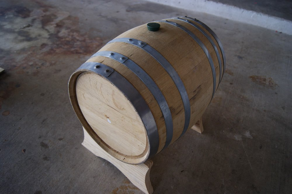 Used 5 Gallon Whiskey Barrel by HomeBrewing.com (Image #2)