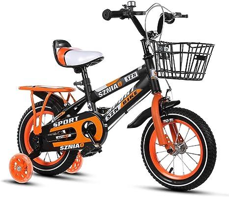 Bicicleta para niños al aire libre para niños y niñas, ruedas de ...