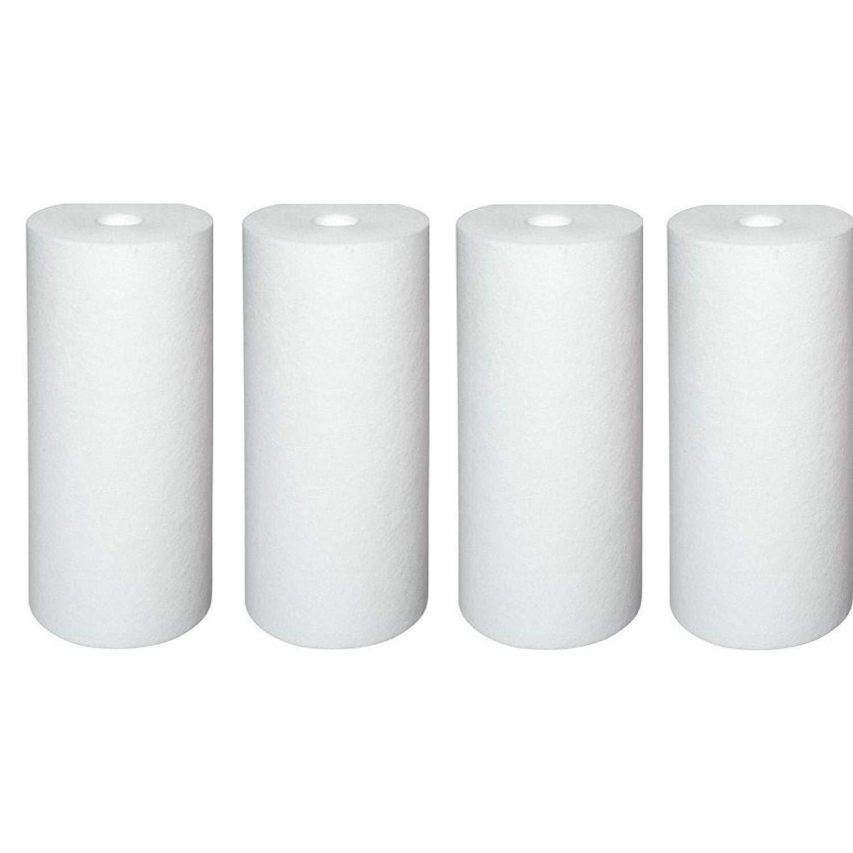 Pentek DGD-5005 Dual Gradient Sediment Water Filters (10'' x 4.5'') - 4