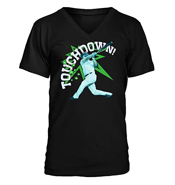 cefb03b33ee58 Amazon.com  Touchdown  354 - Adult Men s V-Neck T-Shirt  Clothing