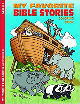 My Favorite Bible Stories Reproducible Coloring Book Ages 2 7 Warner Press