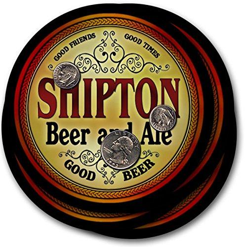 Shiptonビール& Ale – 4パックドリンクコースター   B003QXQWYQ