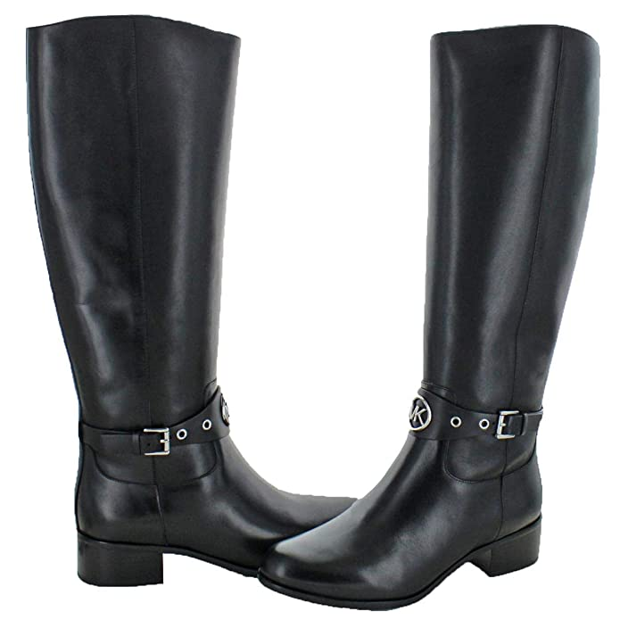 276d601db0c9 MICHAEL Michael Kors Women s Heather Leather Knee-High Boots Black Size 11   Amazon.ca  Shoes   Handbags