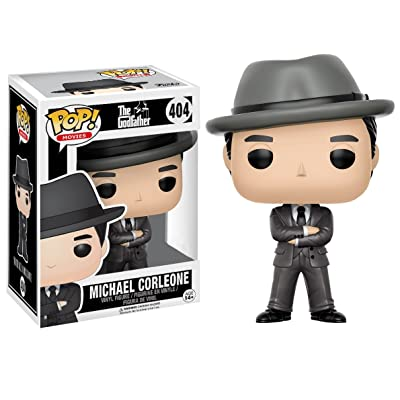 Funko Pop! Movies The Godfather Michael Corleone #404 (with Hat): Toys & Games