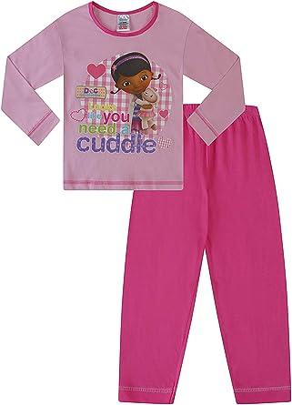 Doc Mcstuffin 3 Pijama para Pijamas Permiten el Paso de la Doc McStuffins 6 años Rosa y