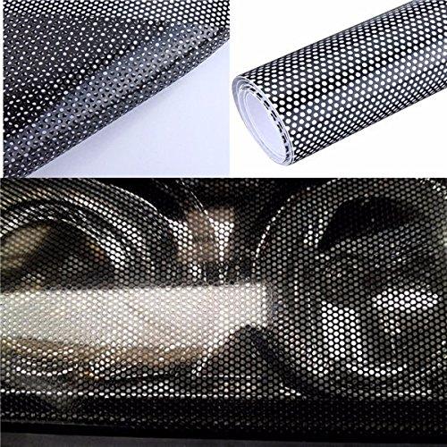 Alamor Adesivo Per Pellicola Tonda Forata 60X106Cm Per Faro Posteriore Tint
