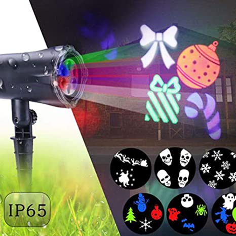 SJTL Luces Proyector LED Luz de Proyección Lámpara Efecto de Luces ...