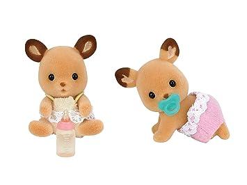 Amazon.es: Twins Shea -67 de Sylvanian Families doll ciervos (Jap?n importaci?n / El paquete y el manual est?n escritos en japon?s): Juguetes y juegos