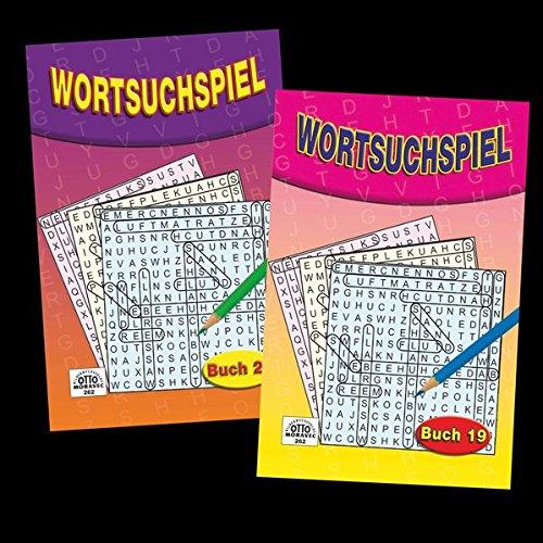 Wortsuchspiel - 2 Hefte a 96 Seiten