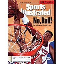 Bill Cartwright Signed Sports Illustrated Magazine Chicago Bulls - Beckett Authenticated