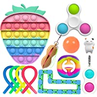 Fidget Toys Set, Relieves Stress and Anxiety Fidget Toy for Children Adults, Special Toys Assortment for Birthday Party…