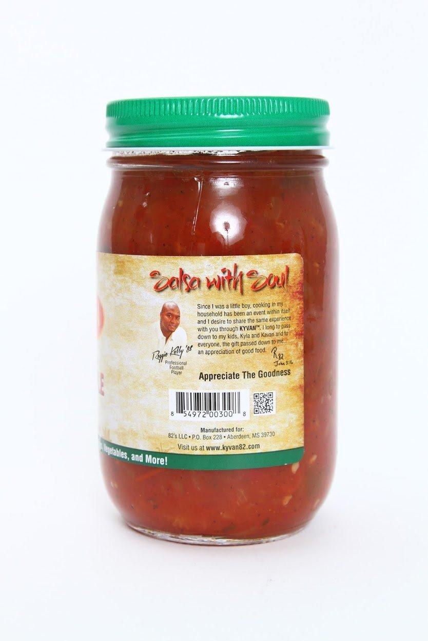 KYVAN Mild Honey Apple Salsa - 3 Pack by KYVAN