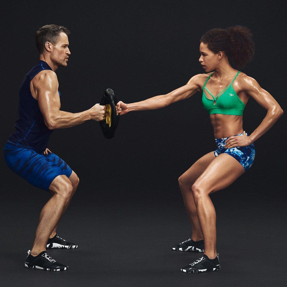 Dark Heather Grey 9H US Speedo Mens Fathom AQ Fitness Water Shoes
