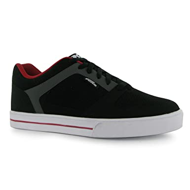 No Fear Mens Skate Shoes Trainers Thick Sole Perforated Panels XF_1629