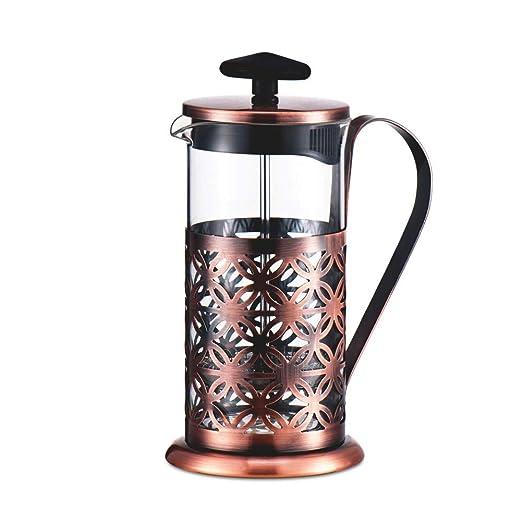 Cafetera de café francés Vintage Press en máquina de café de ...