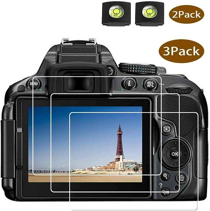D5300 Protector de pantalla para Nikon D5300 D5600 D5500 DSLR y ...