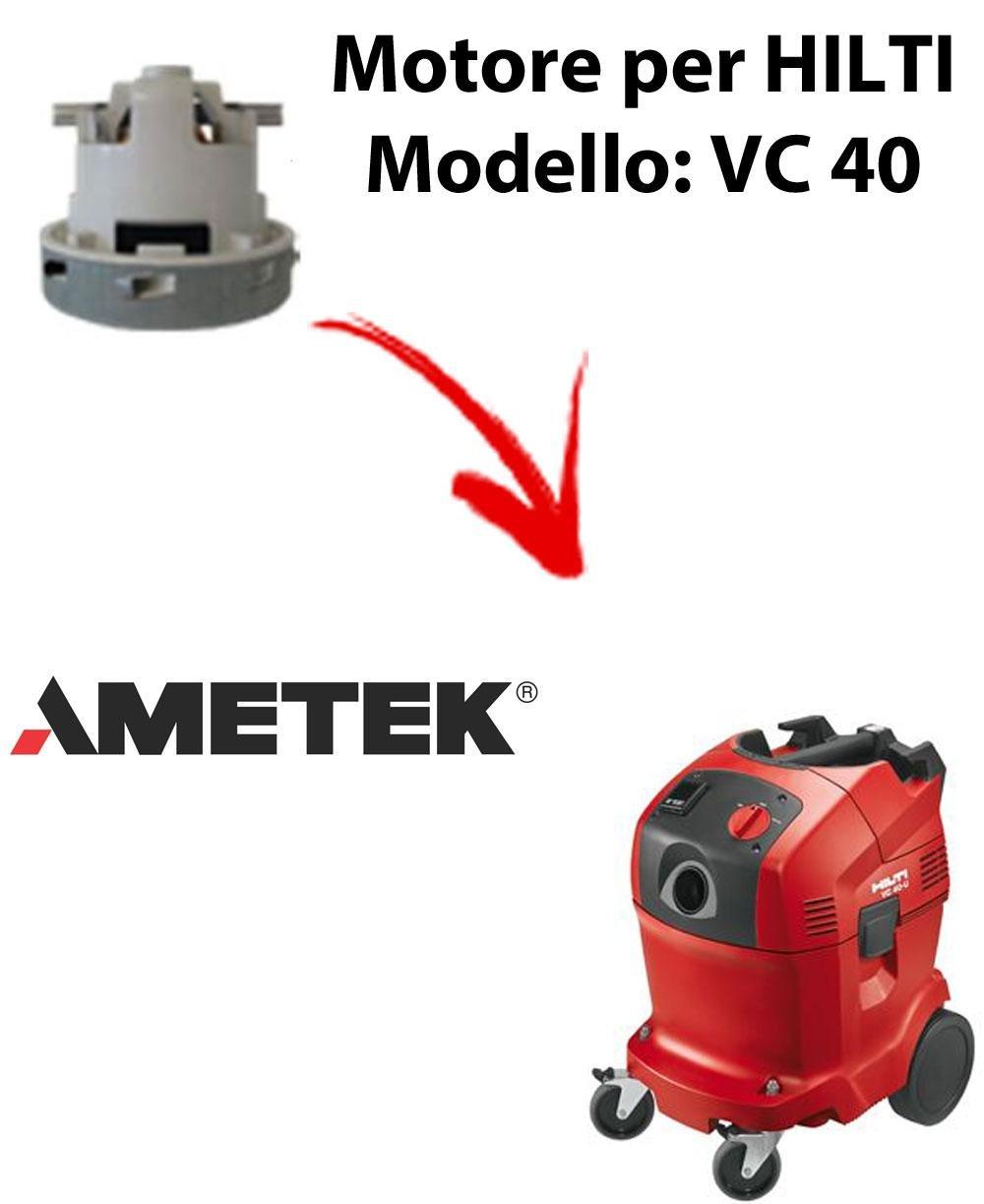 VC 40 automatic motor Ameteken HILTI succión para aspiradora ...