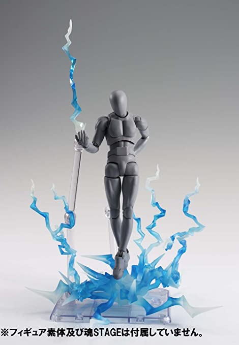 """SS-FLH-BU Blue flash lightning effects for 1//12 6/"""" action figures No figure"""