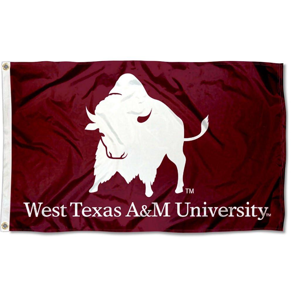 West Texas A & M水牛フラグ B07CG3MNZB 12114