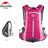 Naturehike Outdoor Sports Daypack Backpack Shoulder Belt Bag For Biking Cycling Traveling Camping Hiking 15L with Helmet Net