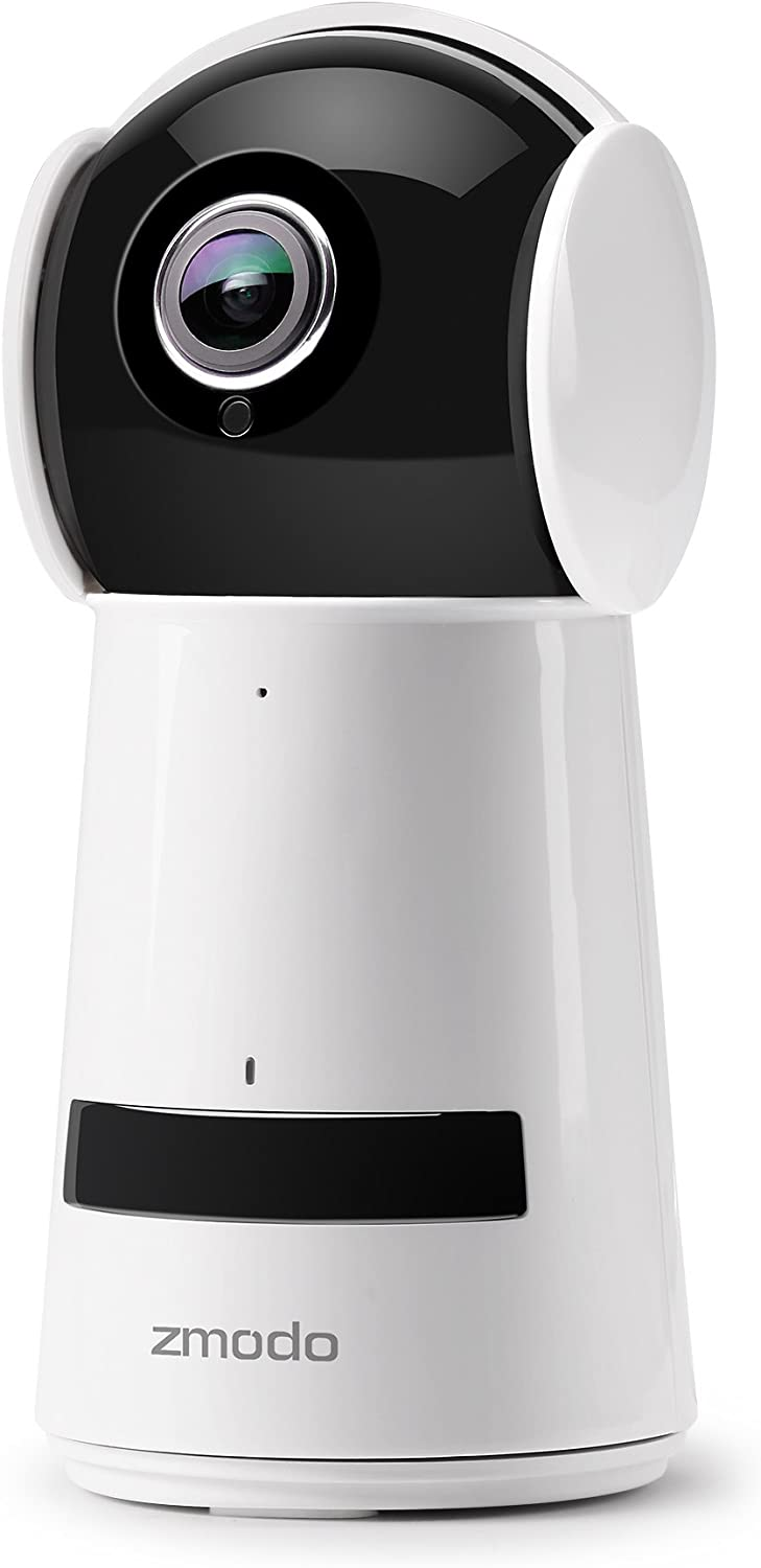 Zmodo 1080P HD Home Camera, Indoor Wireless Security Surveillance Camera System, PT Smart WiFi IP Two-Way Audio Camera with Night Vision for Home/Office/Baby/Pet Monitor with iOS, Android App
