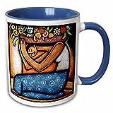3dRose mug%5F21129%5F6 Flower Girl Mexic