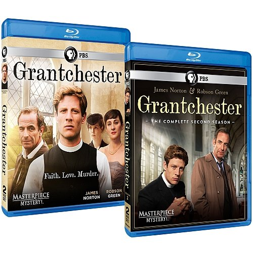 Masterpiece Mystery! Grantchester: Complete Seasons 1 & 2 Bluray