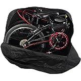 YUTY 輪行バッグ 14-20インチ増加折りたたみ自転車ロードバッグ 増加 輪行袋 太い実線キャリーバッグホイールバッグ 大きい収納袋を(ポーチが付属しています)